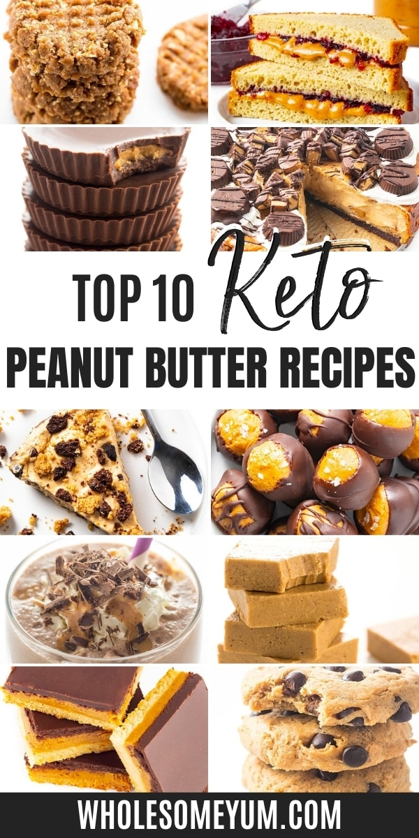 Is peanut butter keto? How many carbs in peanut butter, anyway? Get answers here, plus these delicious recipes for enjoying peanut butter on keto.