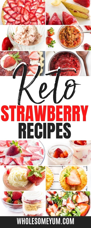 Keto strawberry recipes