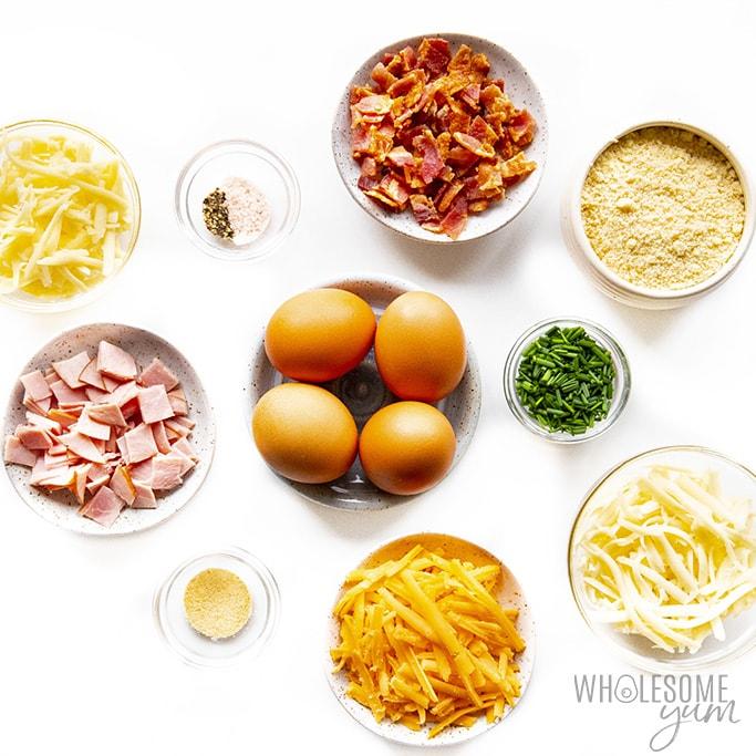 Cloud eggs ingredients