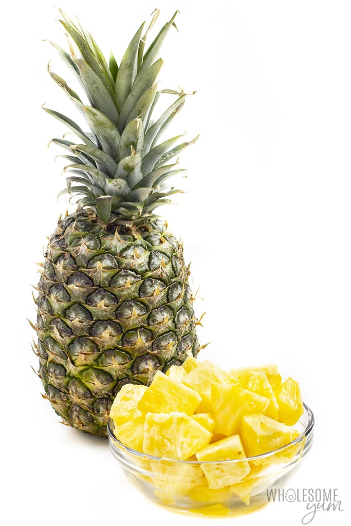 Is this pineapple keto? Unfortunately not, but this post will show you some alternatives.