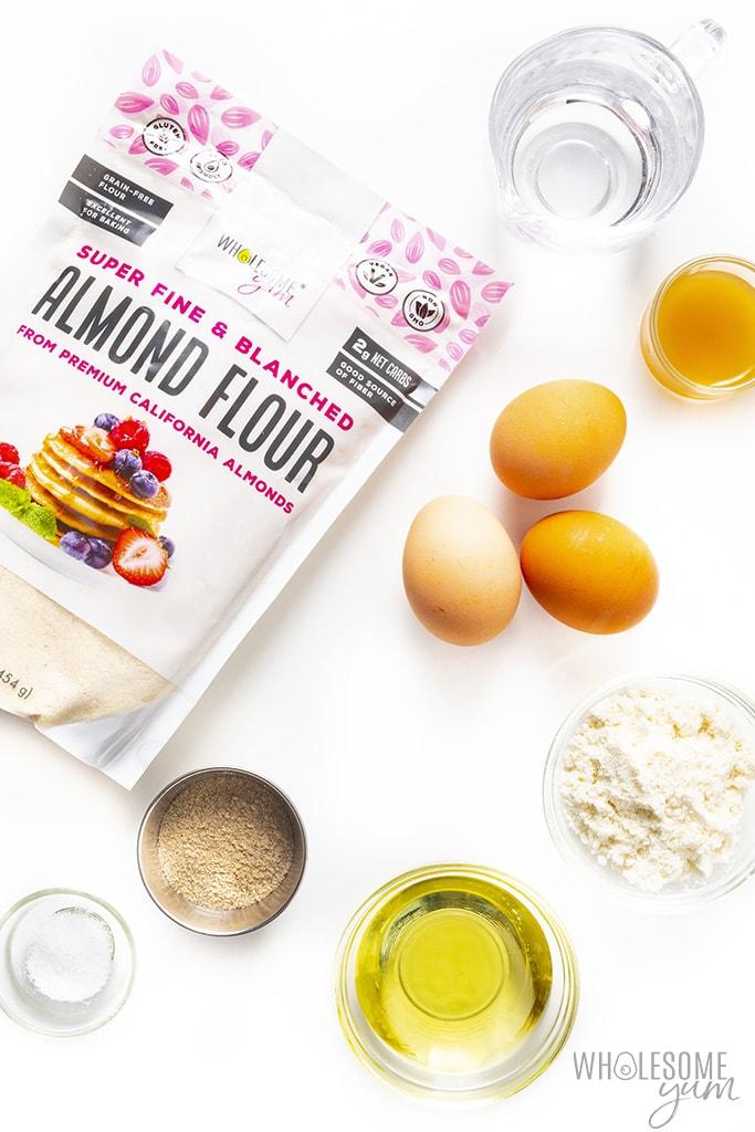 Low carb flatbread ingredients