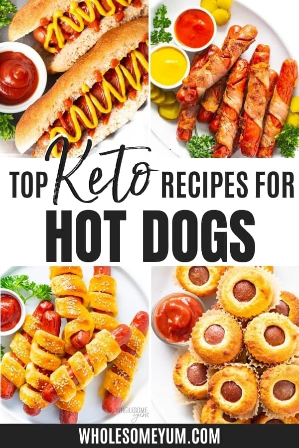 Are hot dogs keto? How many carbs in hot dogs? Learn how low their carbs can be, plus delicious recipes to enjoy hot dogs on keto.