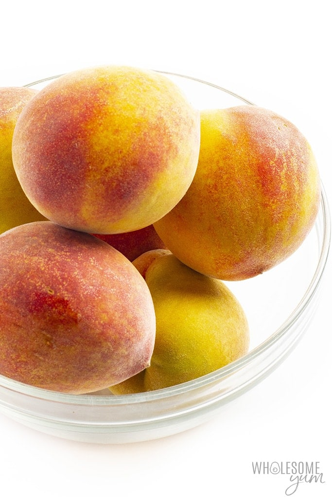 Are peaches keto? These fresh peaches are not keto friendly.