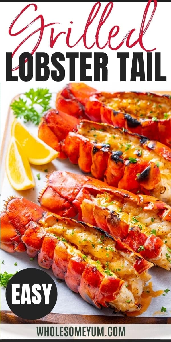 Pin for how to grill lobster tail