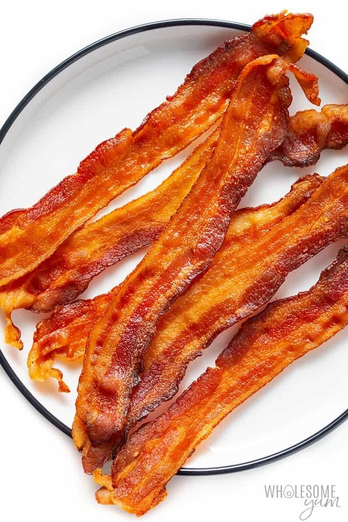 You can cook crispy bacon like this in the microwave