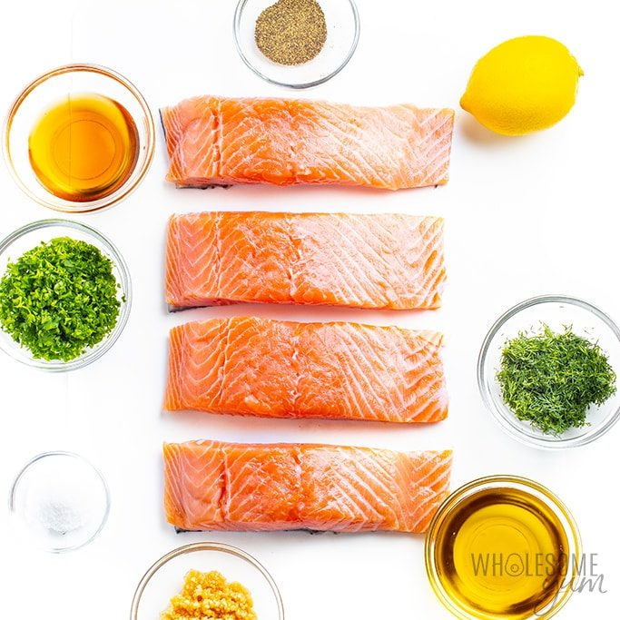 How to choose salmon and grilled salmon ingredients