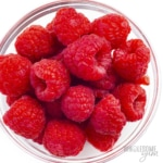 Are raspberries keto? Carbs in these raw raspberries are low enough to enjoy on keto.