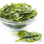 Are carbs in spinach high? This bowl of fresh spinach is low in carbs.