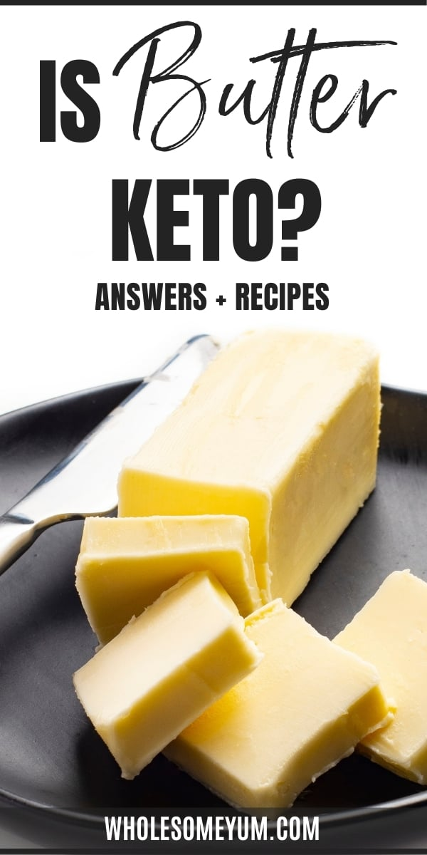 How many carbs in butter? Is butter keto? Learn the real answers here, complete with keto butter recipes.