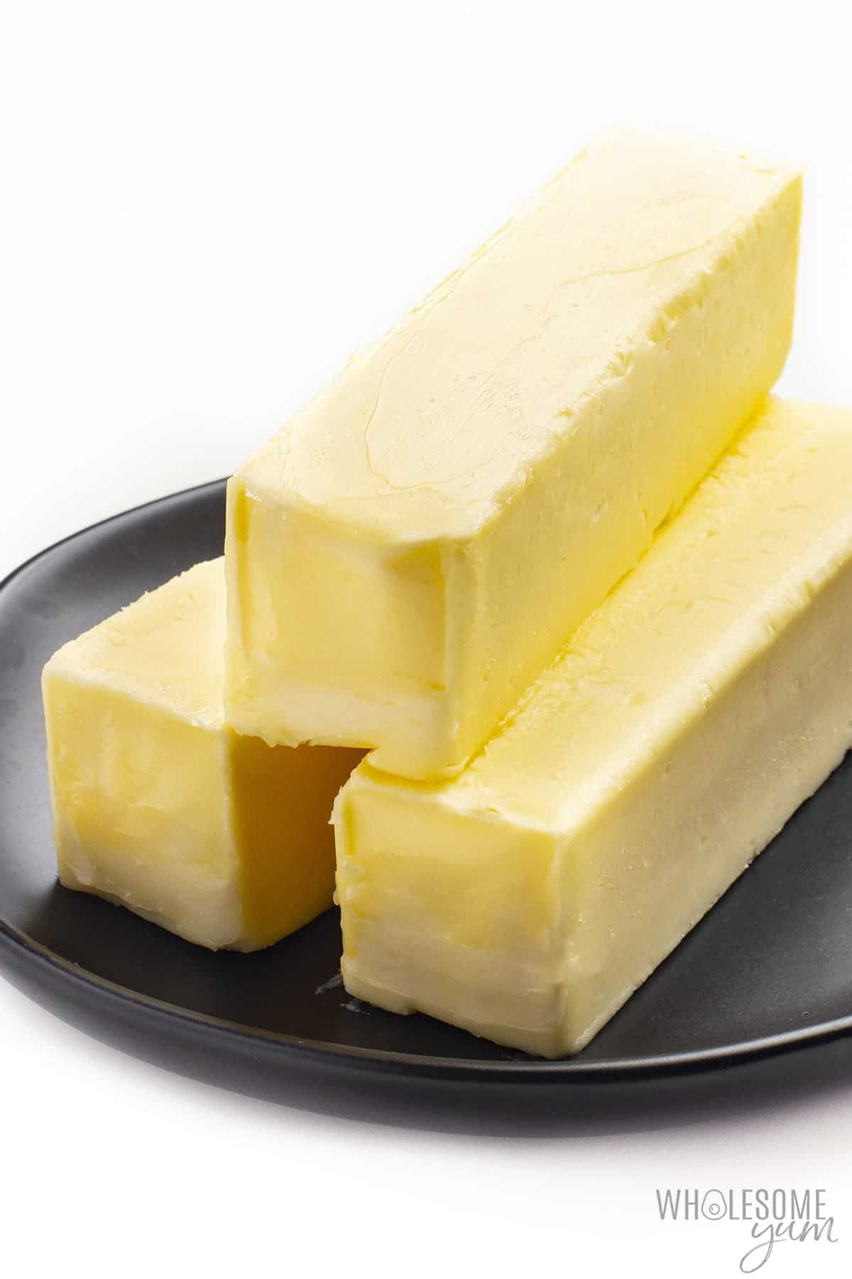 Is butter keto friendly? These sticks of fresh butter are naturally low in carbs.