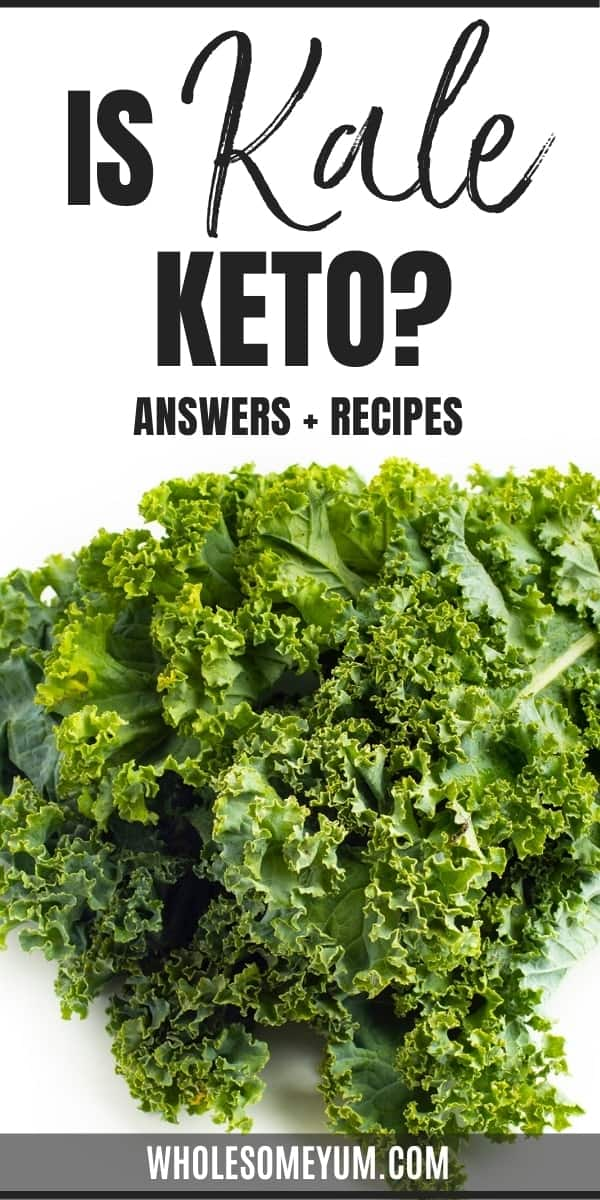 Is kale keto? What are the carbs in kale? Get the complete guide to kale on keto here, complete with easy recipes.