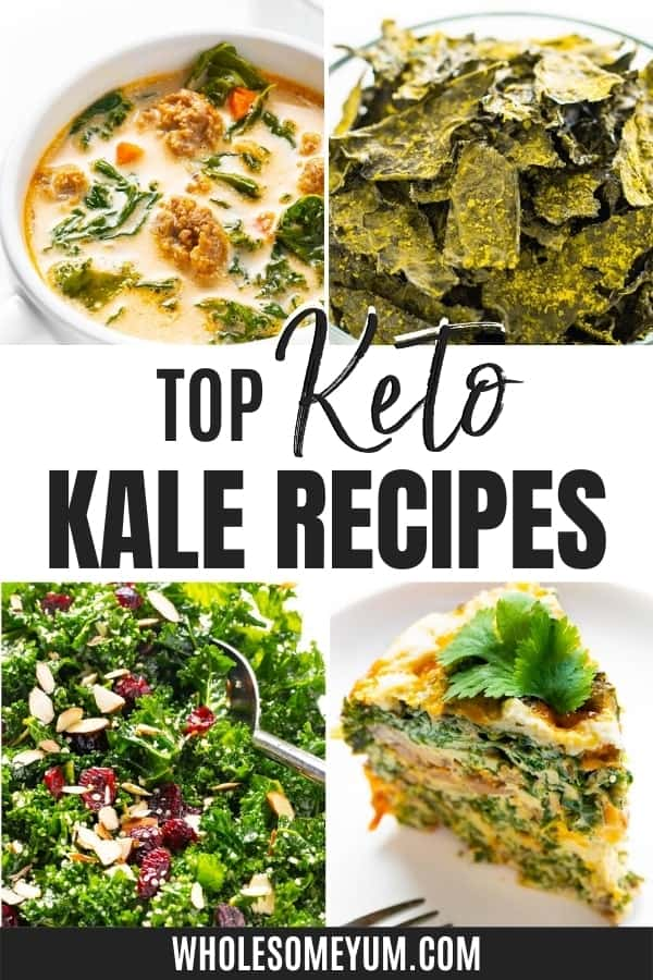 Is kale keto? Yes! These recipes make the most of low carbs in kale, and they're quick and easy.