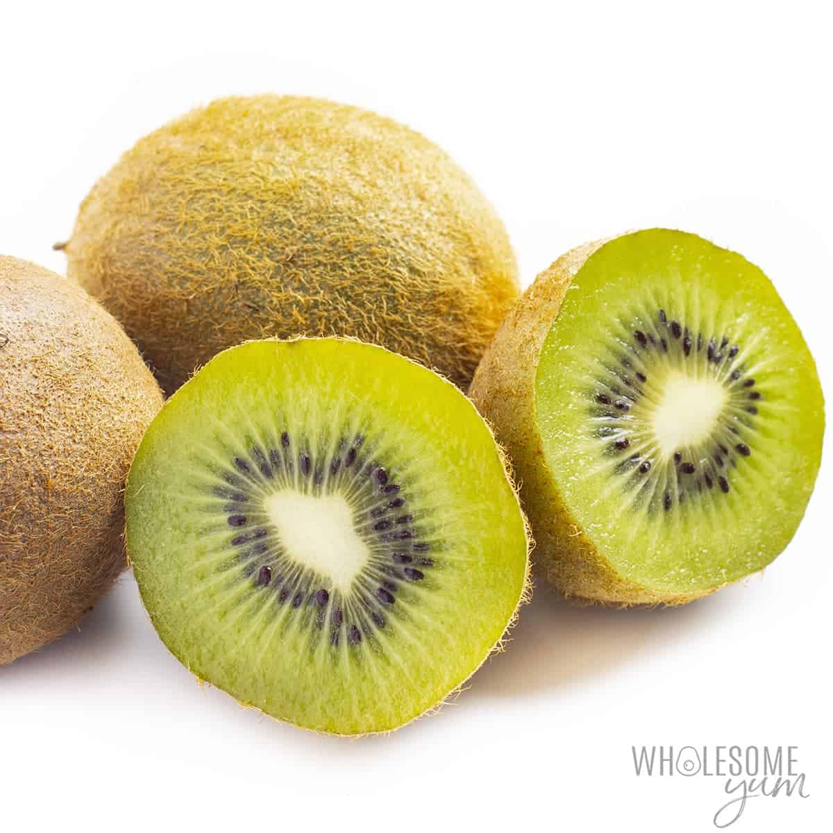 Are carbs in kiwi high? This fresh kiwi can be low carb in moderation.