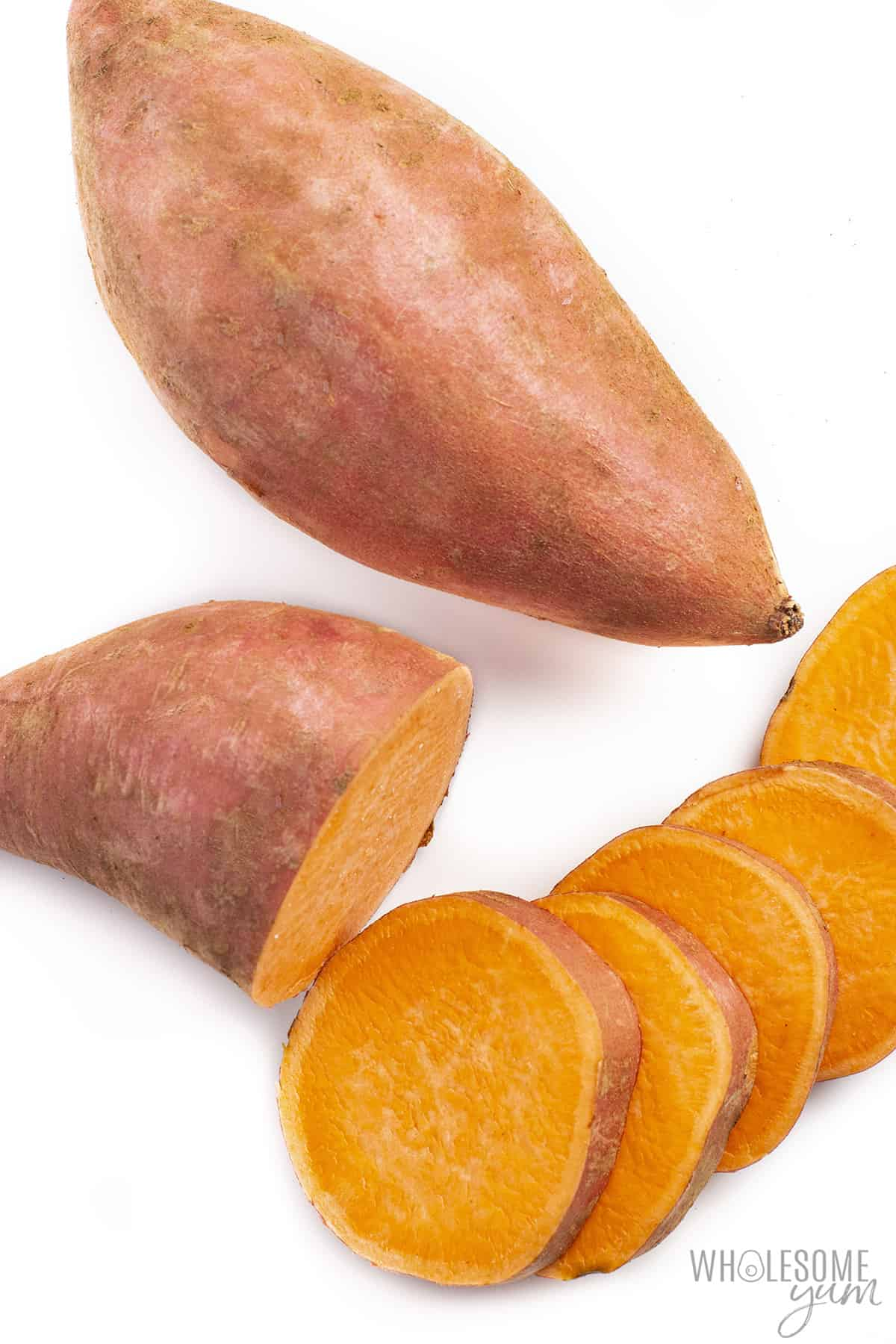 Are sweet potatoes keto? These sliced sweet potatoes are not very keto friendly.