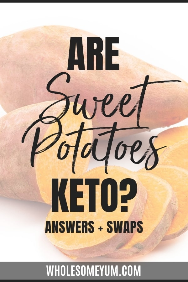 Are sweet potatoes keto? And how high are carbs in sweet potato? Learn all the answers here, complete with easy ways to enjoy their flavor on a low carb lifestyle.