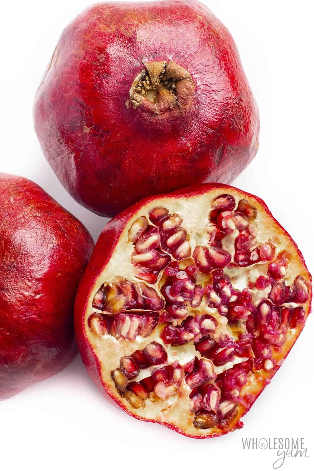 Is pomegranate keto friendly? These fresh pomegranates may be keto in small amounts.